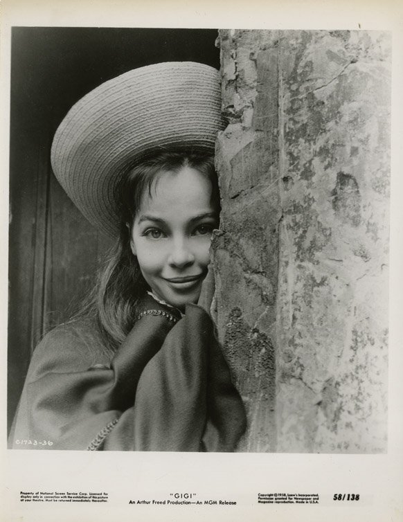 8: Leslie Caron key-set photos from Gigi by Cecil Beato - 5