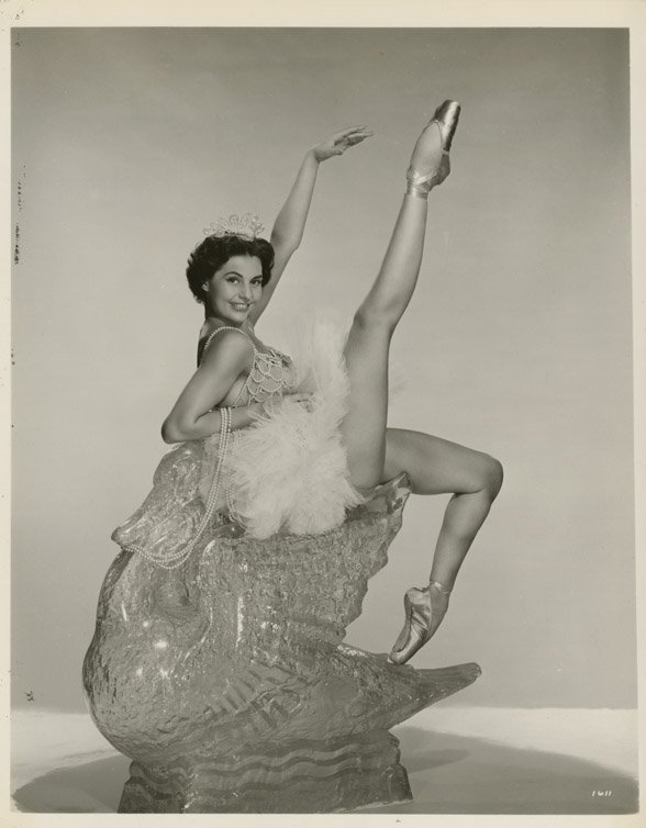 15: Cyd Charisse portraits from Party Girl and other fi