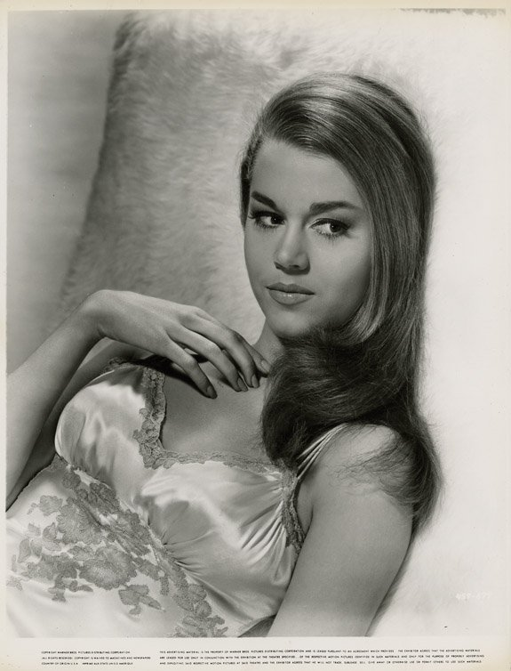 29: Jane Fonda portraits from The Chapman Report