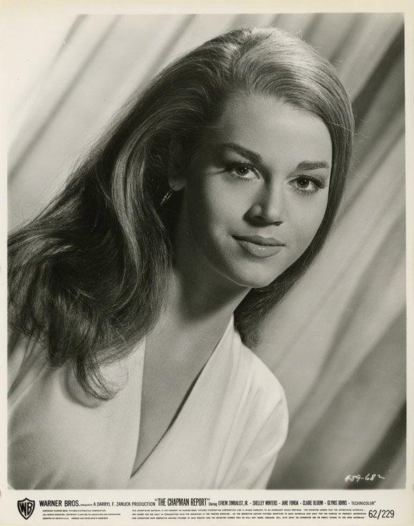 29: Jane Fonda portraits from The Chapman Report - 2