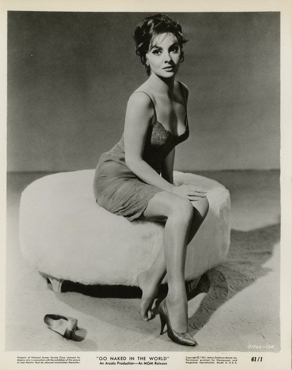 130: Gina Lollobrigida photos from Go Naked in the Worl - 2