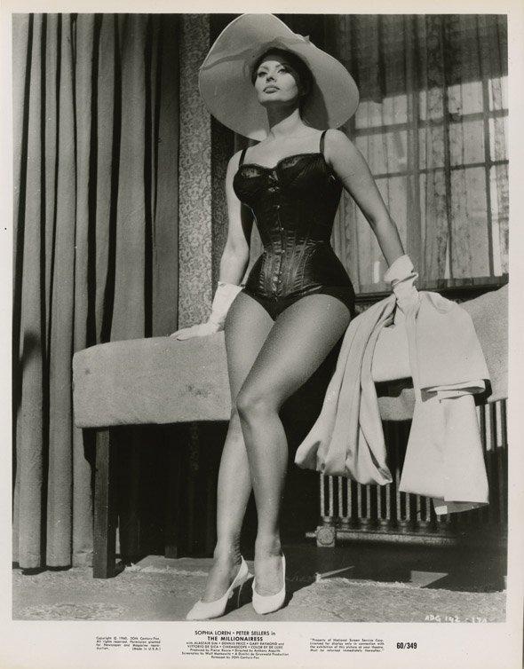 136: Sophia Loren portraits - A Breath of Scandal & oth