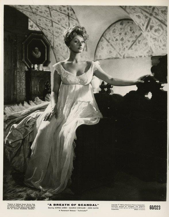 136: Sophia Loren portraits - A Breath of Scandal & oth - 3