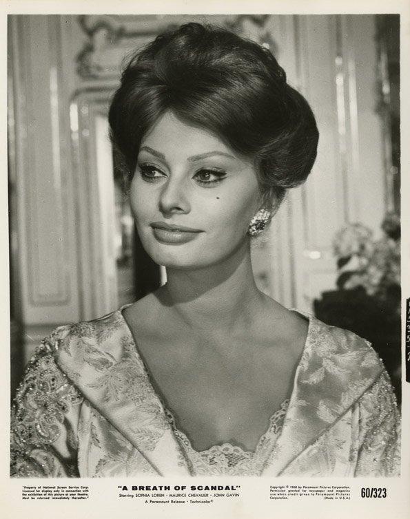 136: Sophia Loren portraits - A Breath of Scandal & oth - 4