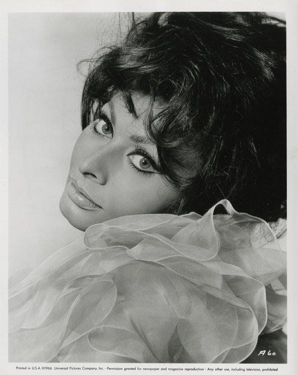 140: Sophia Loren portraits from Arabesque by Richard A