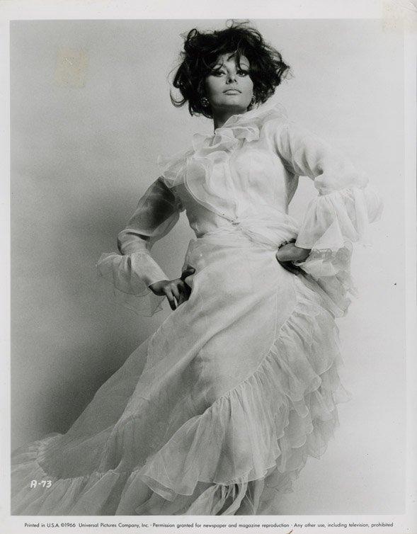 140: Sophia Loren portraits from Arabesque by Richard A - 3