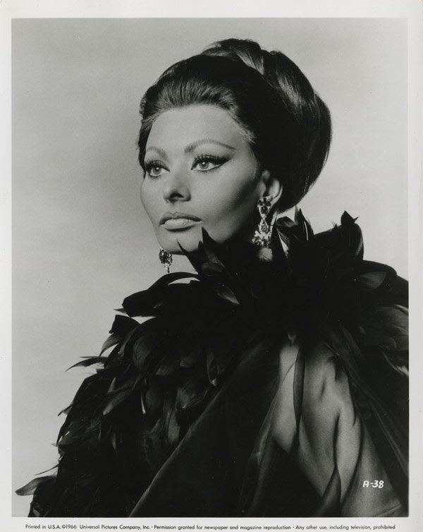 141: Sophia Loren portraits from Arabesque by Richard A