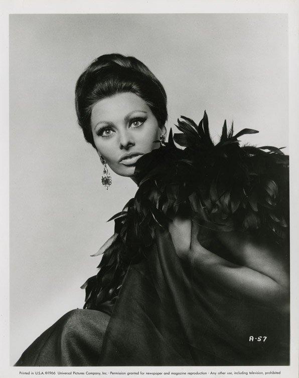 141: Sophia Loren portraits from Arabesque by Richard A - 3