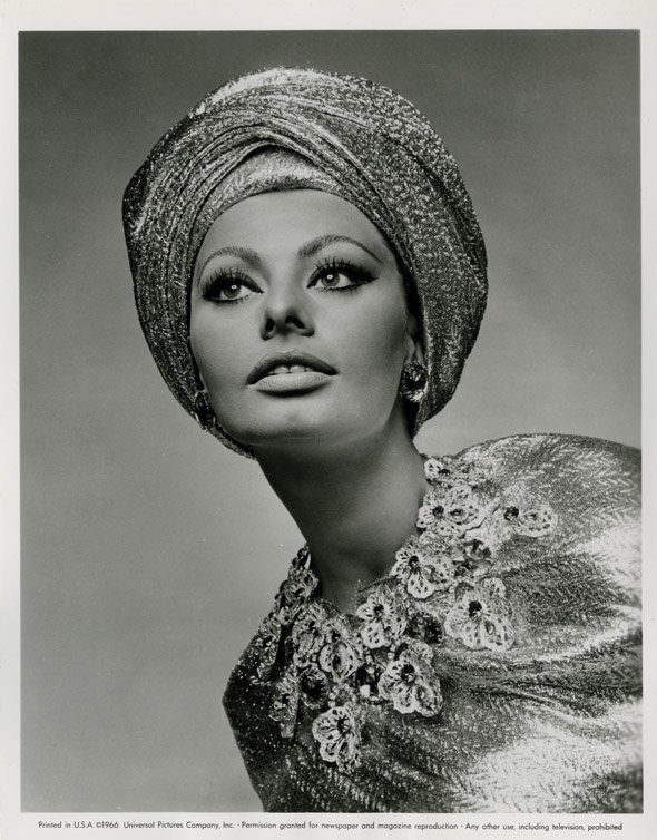 142: Sophia Loren portraits from Arabesque by Richard A