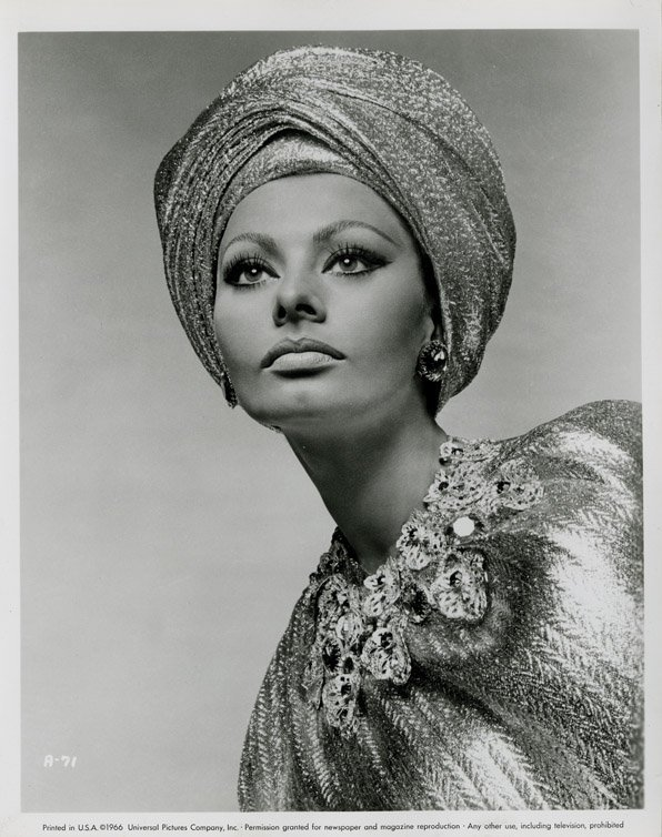 142: Sophia Loren portraits from Arabesque by Richard A - 2