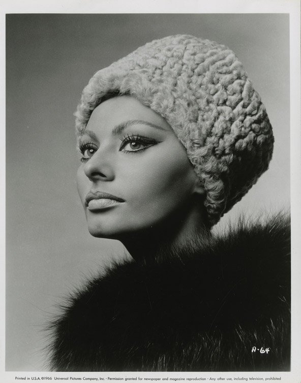 142: Sophia Loren portraits from Arabesque by Richard A - 3