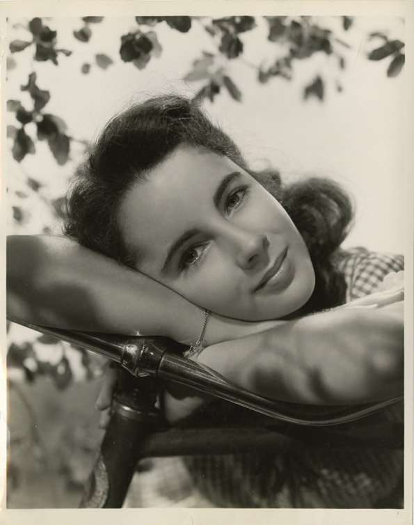 183: Elizabeth Taylor photos from The Courage of Lassie - 3