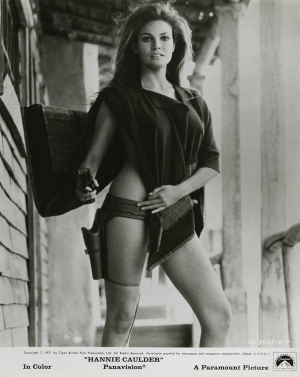 219: Raquel Welch photos from Hannie Caulder, Bluebeard