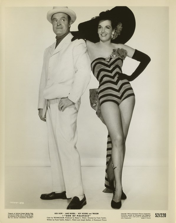 347: Jane Russell photos from Son of Paleface and & fil