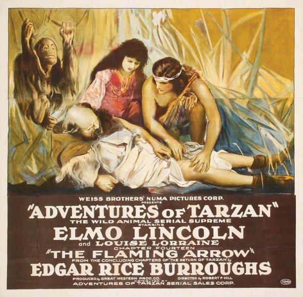 483: The Adventures of Tarzan six-sheet poster