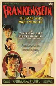 484: Frankenstein one-sheet poster