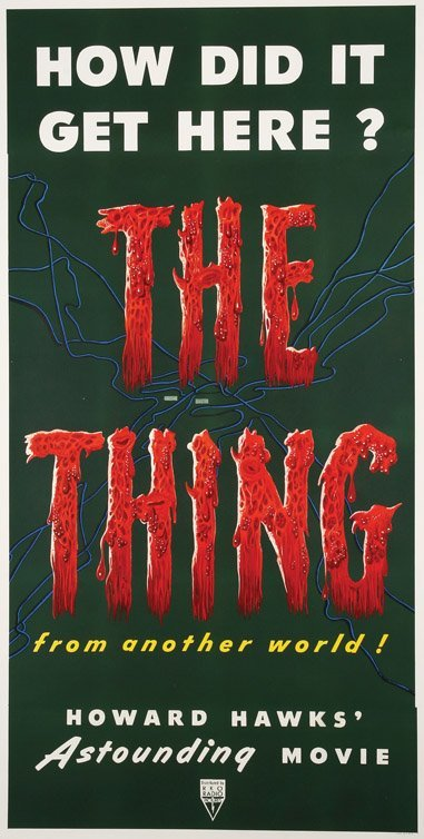 537: The Thing from Another Planet three-sheet poster