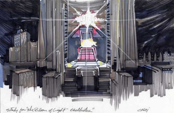 596: Archive of original concept art for Ghostbusters - 3