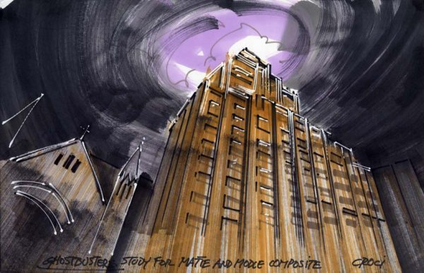 596: Archive of original concept art for Ghostbusters - 6