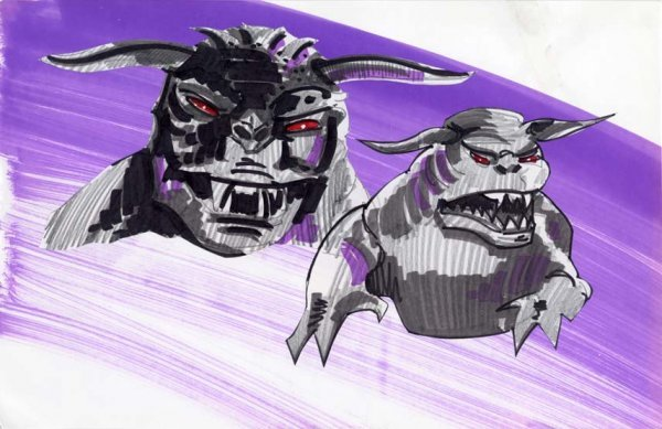 596: Archive of original concept art for Ghostbusters - 9
