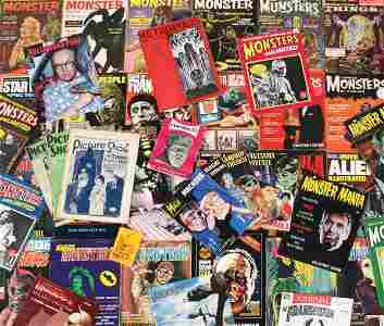 642: 600+ horror, monster, and Sci-Fi movie magazines
