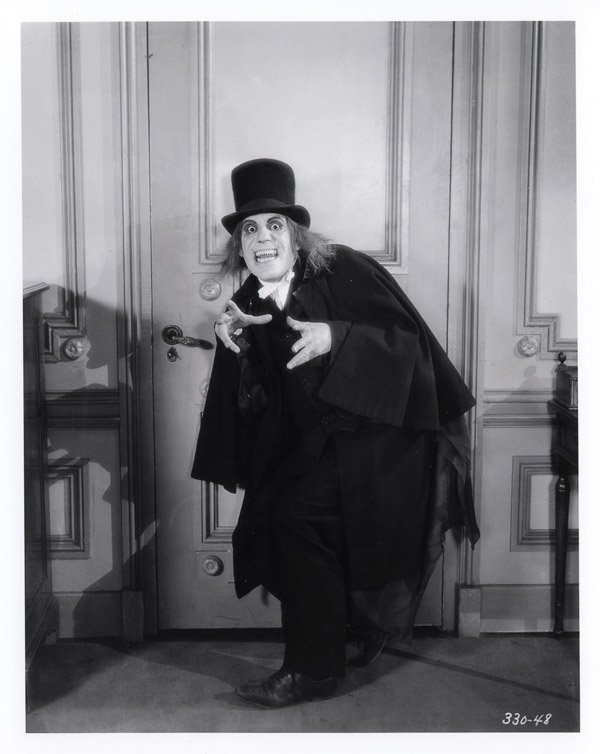 669: Lon Chaney Vampire top hat London After Midnight - 10