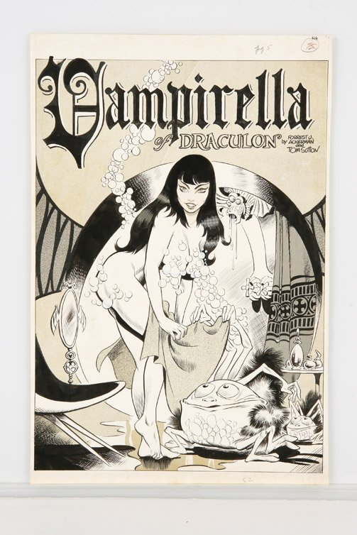 686: Comic artwork by Tom Sutton for Vampirella #1