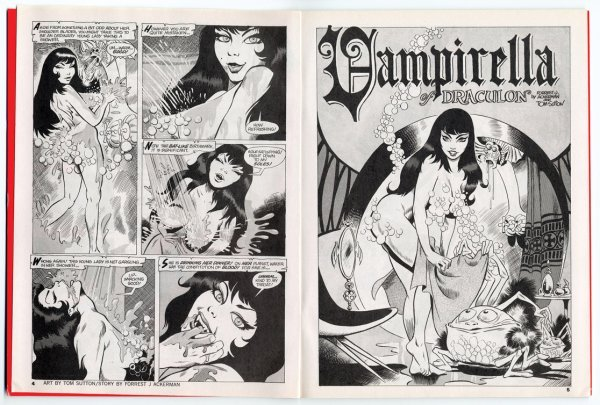 686: Comic artwork by Tom Sutton for Vampirella #1 - 9