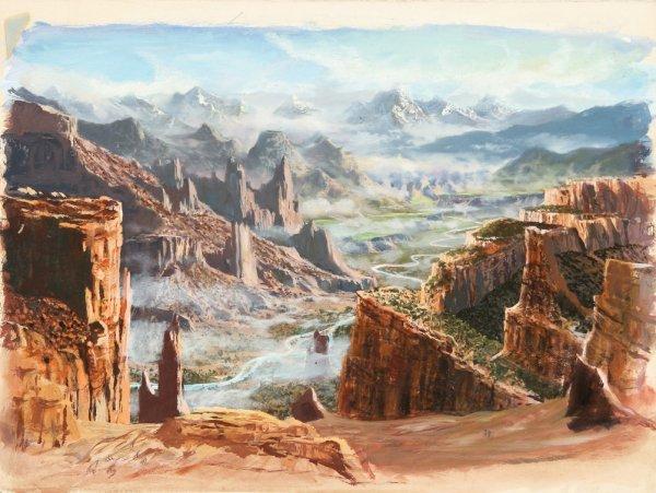 730: Weird Tales & Frank Kelly Freas original artwork - 5