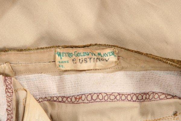 796: Peter Ustinov Nero peplos & mantle from Quo Vadis - 4