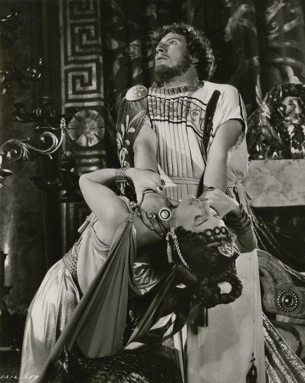 796: Peter Ustinov Nero peplos & mantle from Quo Vadis - 5
