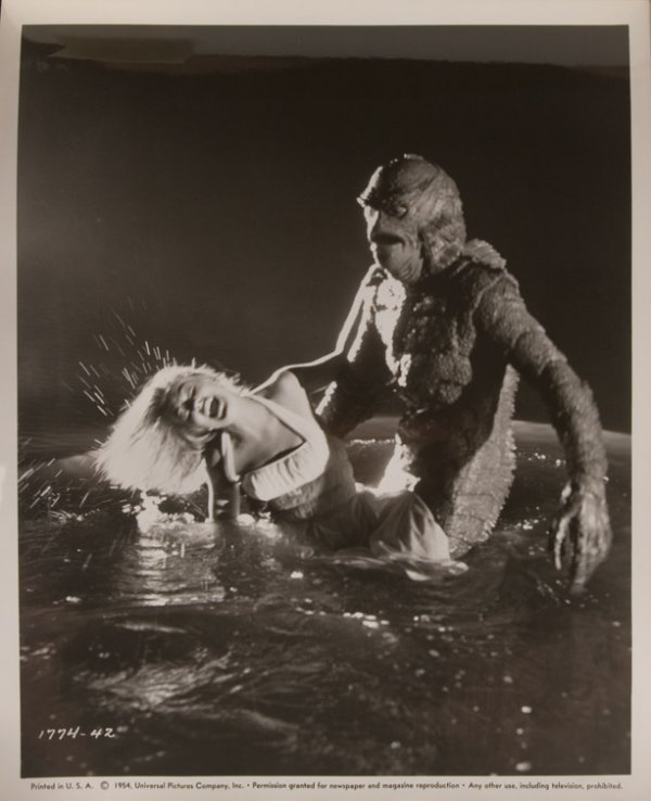 801: Creature from the Black Lagoon Gill Man mask - 10