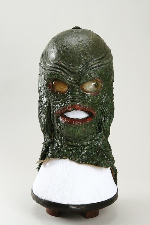 801: Creature from the Black Lagoon Gill Man mask - 2