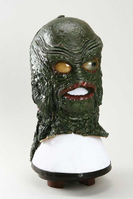 801: Creature from the Black Lagoon Gill Man mask - 3