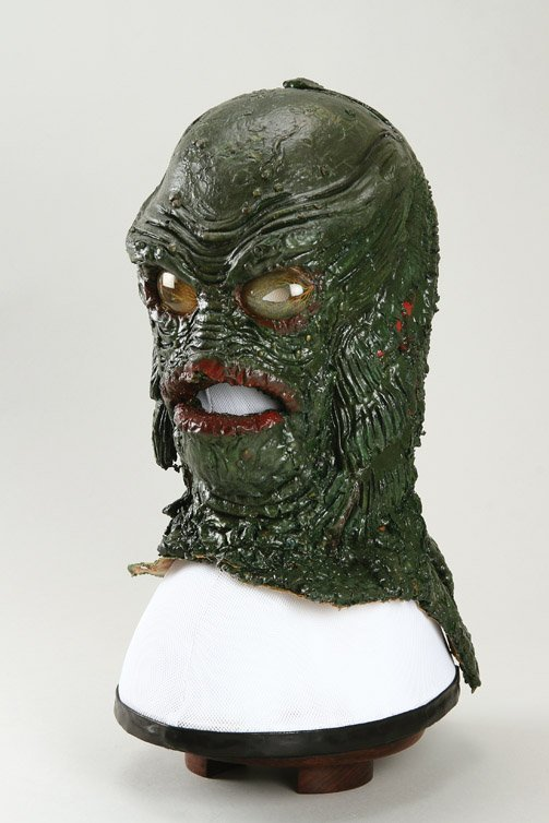 801: Creature from the Black Lagoon Gill Man mask - 4