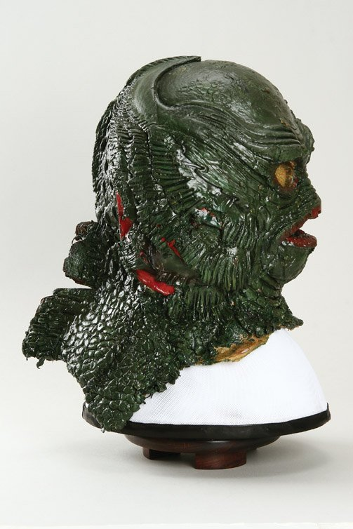 801: Creature from the Black Lagoon Gill Man mask - 5