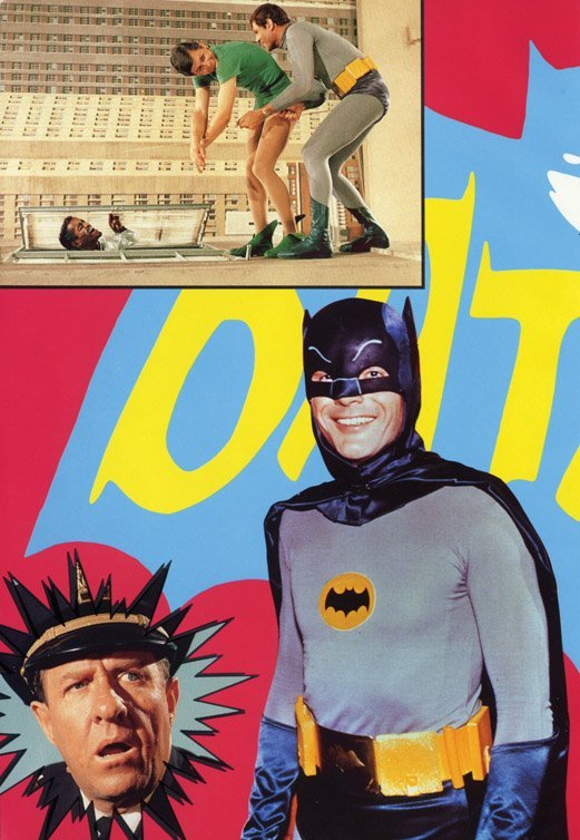 825: Adam West's Batman tunic, tights, and briefs - 8