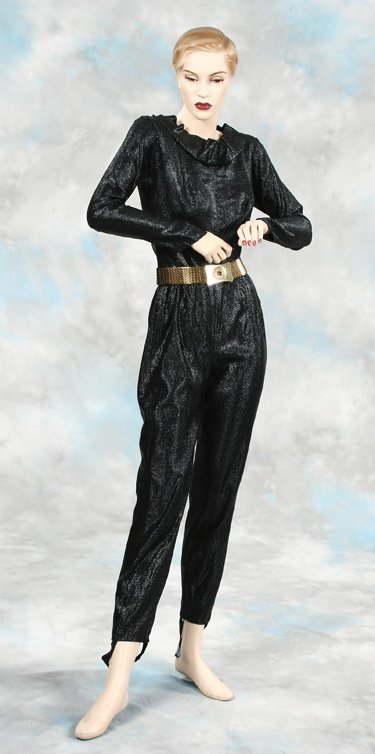 827: Lee Meriwether Catwoman catsuit & belt from Batman