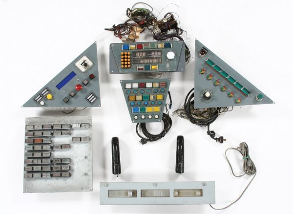 832: Spaceship panels & components used by Adam West