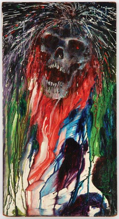 842: Screen-used Night Gallery painting - Fright Night
