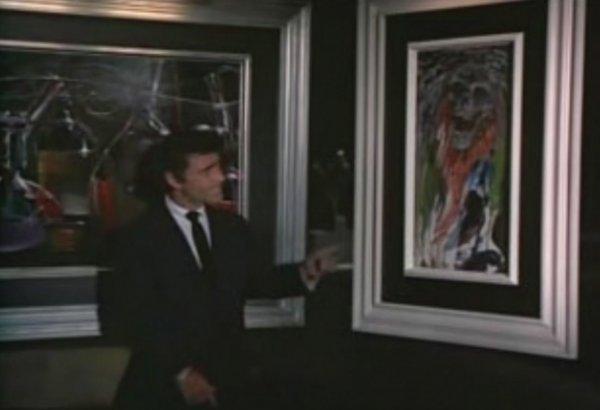 842: Screen-used Night Gallery painting - Fright Night - 2