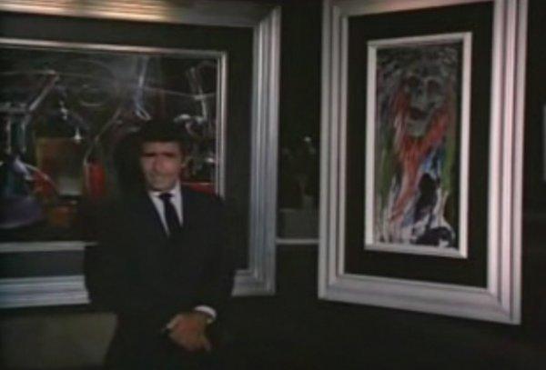 842: Screen-used Night Gallery painting - Fright Night - 3