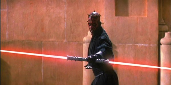 864: Darth Maul fighting lightsaber Star Wars Episode 1 - 4