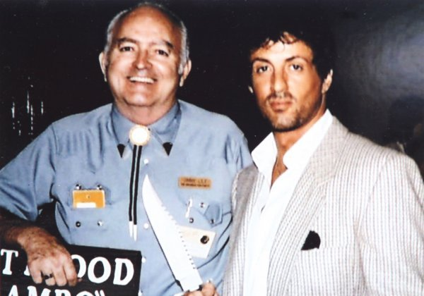 895: Jimmy Lile prototype Rambo knife made for Stallone - 3