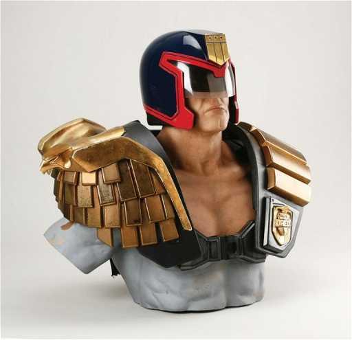 938 Sylvester Stallone Helmet Amp Armor From Judge Dredd