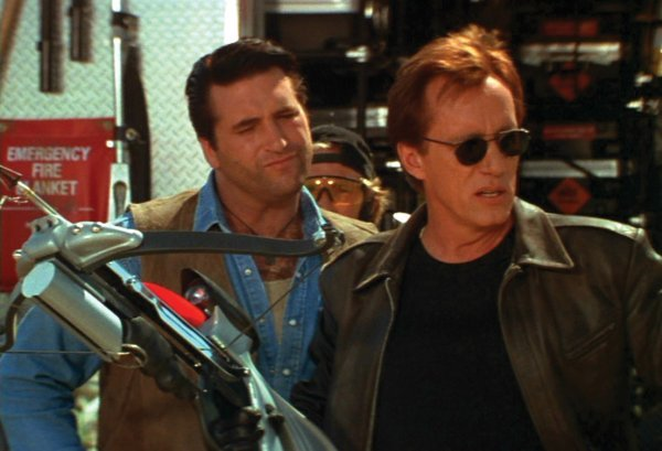 973: James Woods crossbow & wooden stakes from Vampires - 3