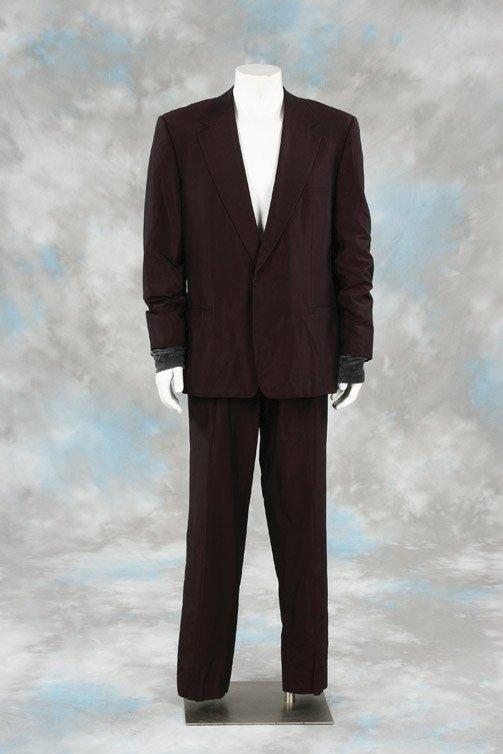 982: Alan Rickman Metatron purple Versace suit - Dogma