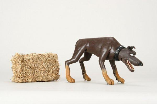 1007: Original screen-used guard dog from Chicken Run