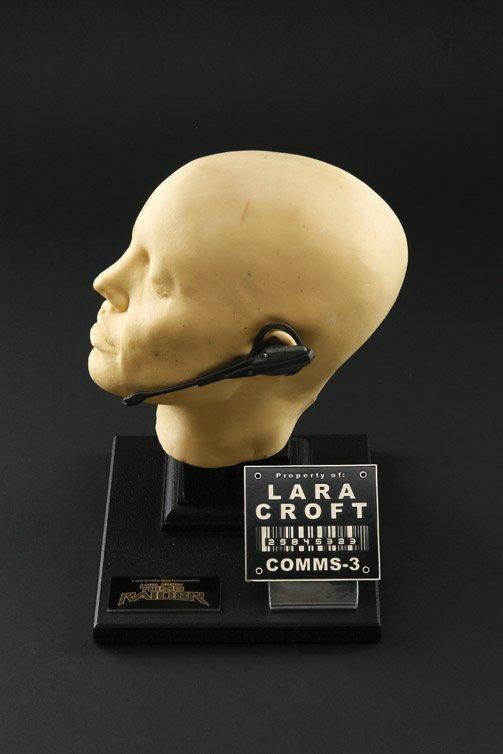 1017: Angelina Jolie Lara Croft life cast and headset