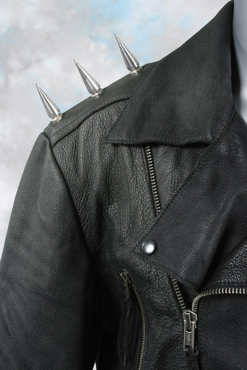 1038: Nicolas Cage Ghost Rider leather suit - 3